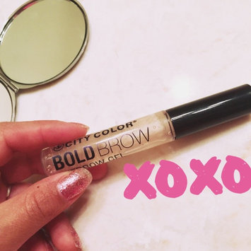 Photo of City Color Cosmetics CITY COLOR Bold Brow Eyebrow Gel - Clear uploaded by Jasmine O.