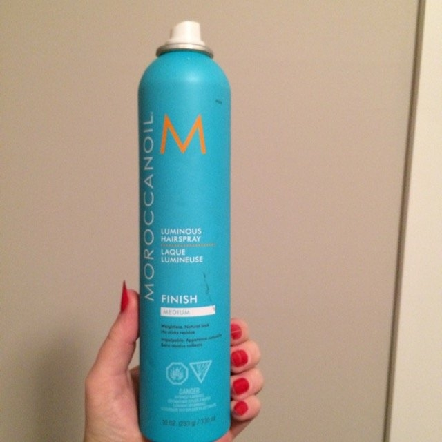 Moroccanoil Luminous Hairspray Medium uploaded by Sarah C.
