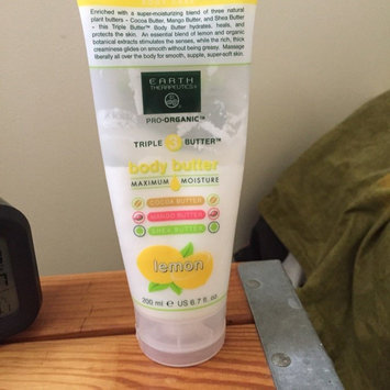 Photo of Earth Therapeutics Pro-Organic Triple Butter Lemon Body Butter uploaded by Grace F.