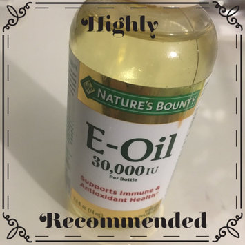 Photo of Nature's Bounty Natural Vitamin E-Oil Dietary Supplement uploaded by Karen F.