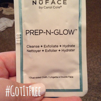 Photo of NuFACE Prep-N-Glow(TM) Cloths 20 Individually Packed Cloths uploaded by Kris K.
