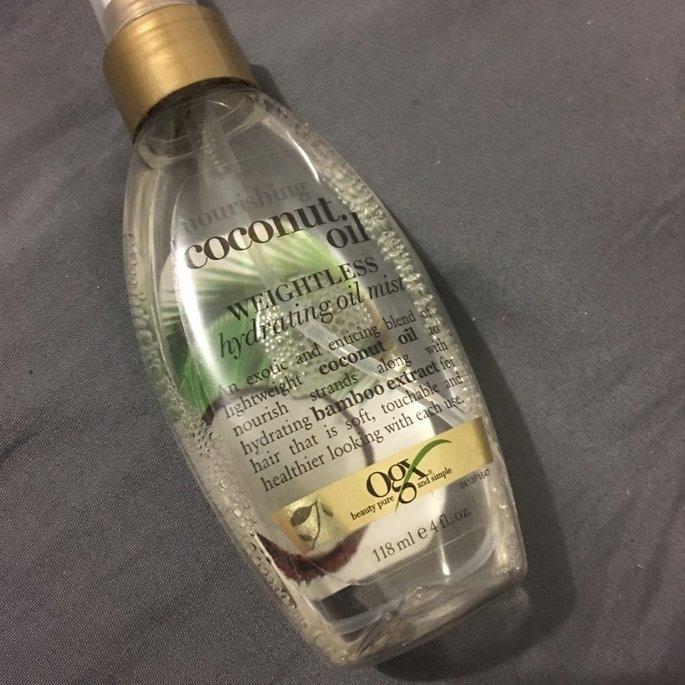 Organix OGX Nourishing Coconut Oil Weightless Hydrating Oil Body Mist - 6.8 oz uploaded by Aimee S.