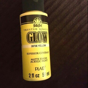 FolkArt 2 oz Glow-In-The-Dark Paint uploaded by shannon j.
