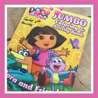 Dora Jumbo Colouring Book Dora the Explorer Jumbo Coloring and Activity Book [Toy] uploaded by Glerysbeth R.
