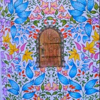 Secret Garden: An Inky Treasure Hunt and Coloring Book uploaded by Katie M.
