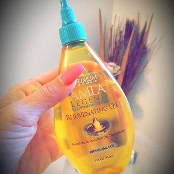 Photo of Optimum Salon Haircare Amla Legend Rejuvenating Oil, 5 fl oz uploaded by April B.