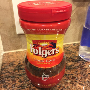 Folgers Classic Roast Instant Coffee Crystals uploaded by Yvette H.