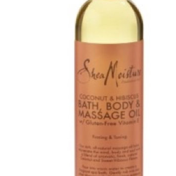 SheaMoisture Cocnut & Hibiscus Bath, Body & Massage Oil uploaded by Melissa A.