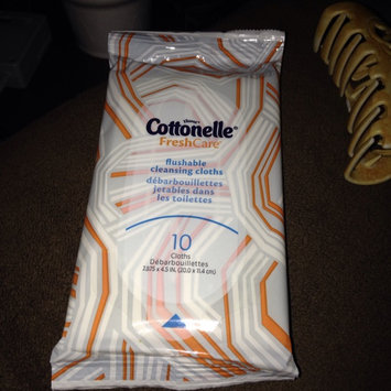 Photo of Cottonelle COTTONELLE Flushable Wipes - 336 count uploaded by Savannah M.