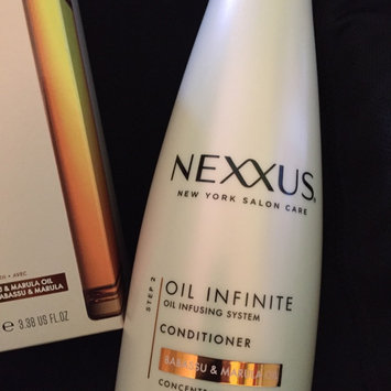 Photo of NEXXUS® OIL INFINITE CONDITIONER FOR DULL OR UNRULY HAIR uploaded by Erin R.