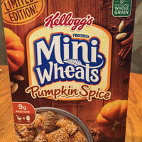 Kellogg's® Frosted Mini-Wheats® Limited Edition Pumpkin Spice Cereal 15.5 oz. Box uploaded by Meredith D.