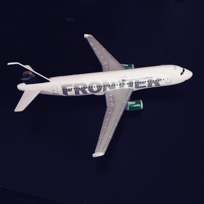 Frontier Airlines uploaded by Paloma E.
