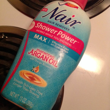 Photo of Nair Shower Power Max with Moroccan Argan Oil uploaded by Lonnesha D.