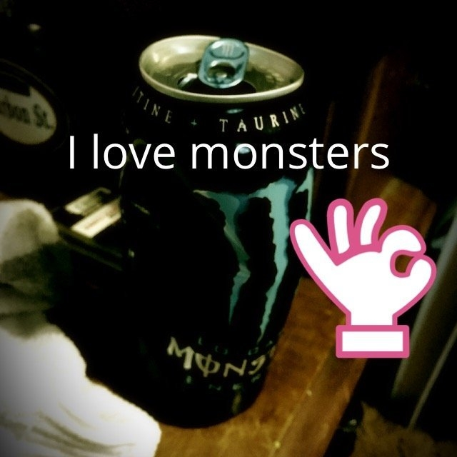 Monster Lo-Carb Energy Drink uploaded by Heather F.
