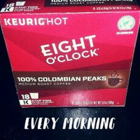 Eight O'Clock 100% Colombian Medium Roast Coffee K-Cup - 18 CT uploaded by Audrey O.