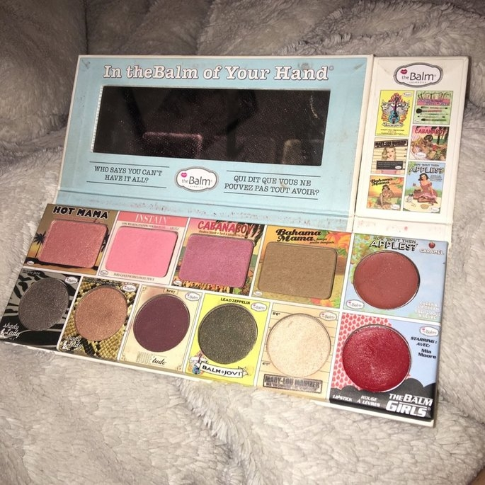 the Balm - In the Balm of Your Hand Greatest Hits Vol 1 Holiday Face Palette uploaded by Laura C.