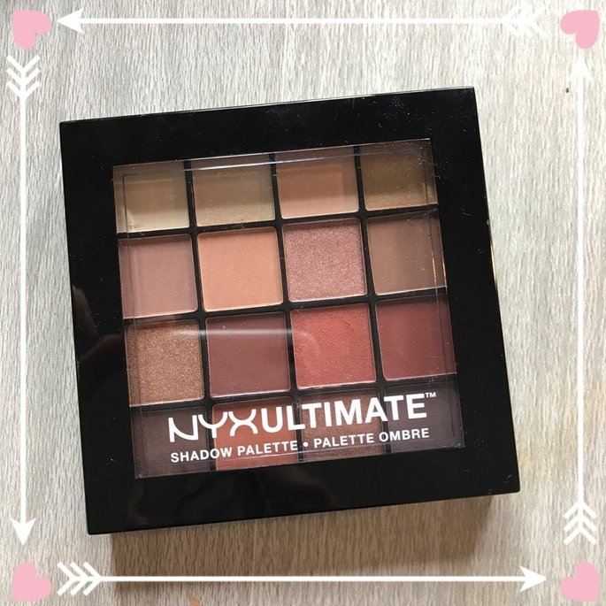 NYX Cosmetics Ultimate Shadow Palette uploaded by Samantha P.
