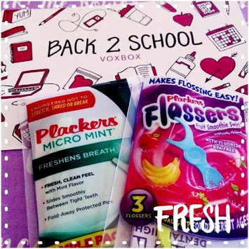 Plackers Dual Grip Fruit Smoothie Swirl Kid's Flossers uploaded by Nicolle N.
