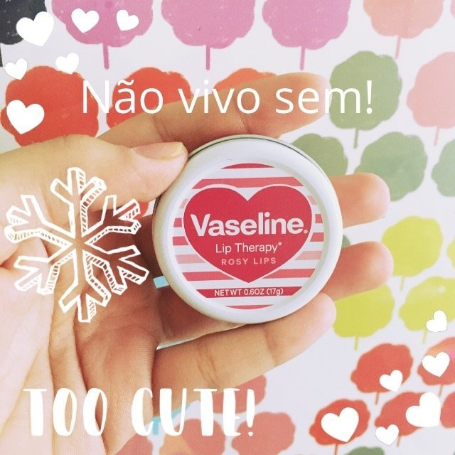 Vaseline® Lip Therapy® Rosy Lips Lip Balm Tin uploaded by Barbara L.