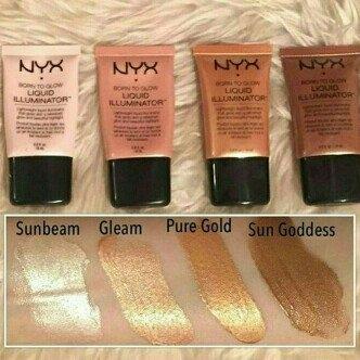 NYX Cosmetics Born to Glow Liquid Illuminator uploaded by Katelyn O.