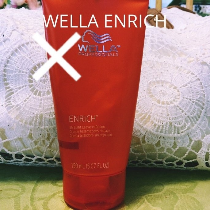 Wella Professionals Enrich Straight Leave In Cream 5.07 oz uploaded by Lauren H.