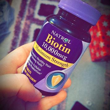 Photo of Biotin Natrol  Fast Dissolve Cherry Flavored Supplement 1 uploaded by megan k.