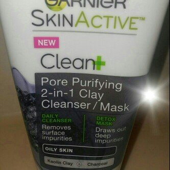 Garnier® SkinActive™ Clean+ Pore Purifying 2-in-1 Clay Cleanser/Mask for Oily Skin 5 fl. oz. Tube uploaded by Bianca M.