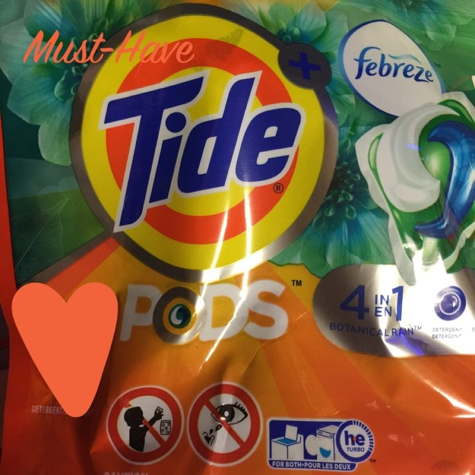 Tide Pods Plus Febreze uploaded by Mallory K.