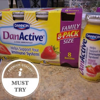 Dannon DanActive Strawberry Probiotic Dairy Drink - 8 CT uploaded by Grizette M.