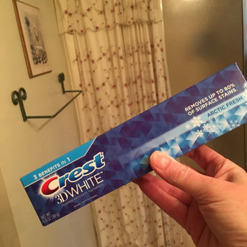 Photo of Crest 3D White Arctic Fresh Whitening Toothpaste uploaded by Sherri H.