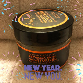 SheaMoisture African Black Soap Problem Skin Moisturizer uploaded by Angelica S.