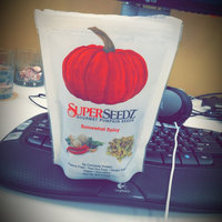 SuperSeedz Gourmet Pumpkin Seeds Somewhat Spicy uploaded by Elizabeth C.