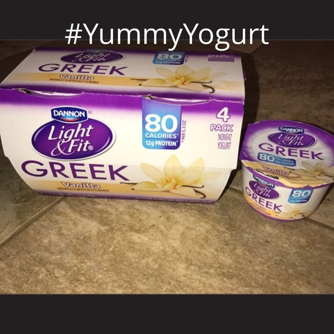 Dannon® Light & Fit Greek Yogurt uploaded by Allison B.