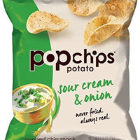 popchips Sour Cream & Onion Potato Chips uploaded by Issy I.
