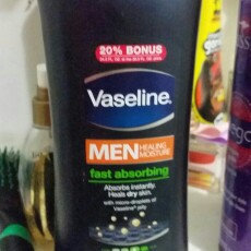 Vaseline Men Healing Moisture Fast Absorbing Body & Face Lotion uploaded by George C.