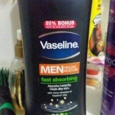 Vaseline Men Healing Moisture Fast Absorbing Body & Face Lotion uploaded by George C.