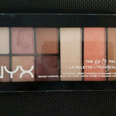 NYX Cosmetics Go-To Palette uploaded by Anna K.