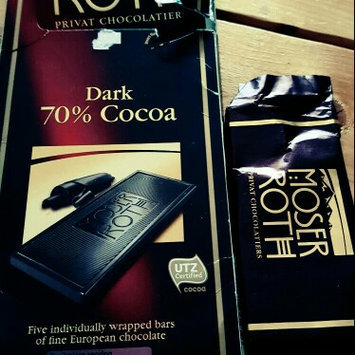 Photo of Chocolate Bars Moser Roth Privat Chocolatiers European Chocolate, Premium Dark, 4.4 Ounce uploaded by Tiffany T.