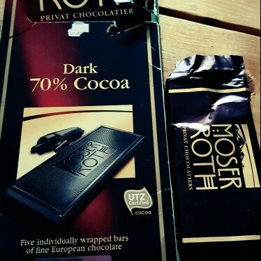Chocolate Bars Moser Roth Privat Chocolatiers European Chocolate, Premium Dark, 4.4 Ounce uploaded by Tiffany T.