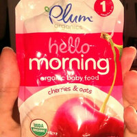 Plum Organics® Hello Morning™ Stage 1 Cherries & Oats Baby Food 3.5 oz. Pouch uploaded by Jackie A.