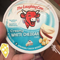 The Laughing Cow® Creamy White Cheddar Cheese Wedges uploaded by Whitney S.