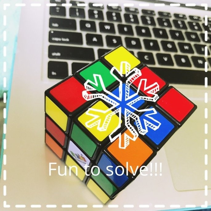 ETHAHE Classic Toy Kid Adult Rubik's Cube Rubix Puzzle uploaded by Abby D.