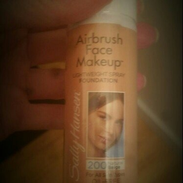 Sally Hansen Airbrush Face Makeup uploaded by Trudy P.