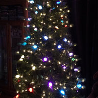 GE Pre-Lit 7.5' iTwinkle Colorado Spruce Artificial Christmas Tree, Multi-Color Lights uploaded by Wanda B.