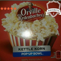 Orville Redenbacher's Gourmet Popping Corn Pop Up Bowl Bags Salty+Sweet Kettle Korn - 3 CT uploaded by Lakesha J.