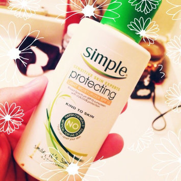 Photo of Simple Protecting Light Moisturizer SPF 15 uploaded by Rayleigh A.