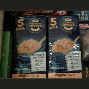 Kraft Macaroni and Cheese Original uploaded by Jessica F.