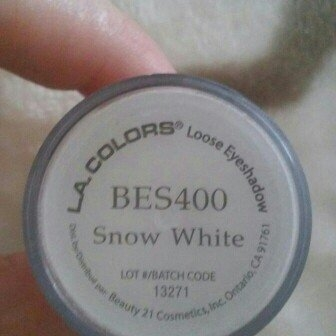 L.A. Colors Shimmering Loose Eye Shadow 111 Snow White uploaded by Angel K.