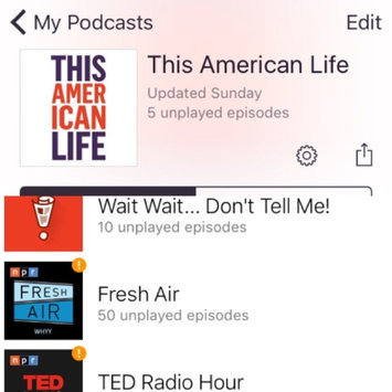 Photo of Apple Podcasts uploaded by Christina G.