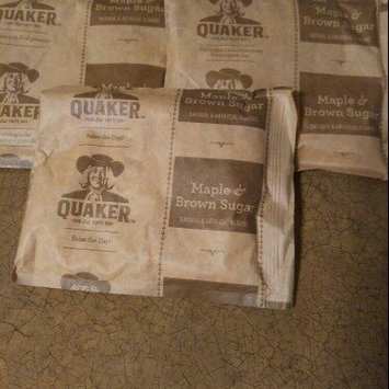 Photo of Quaker Instant Oatmeal Maple & Brown Sugar - 10 CT uploaded by Trixie B.